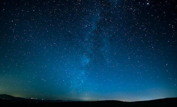 Fotografía del cielo nocturno