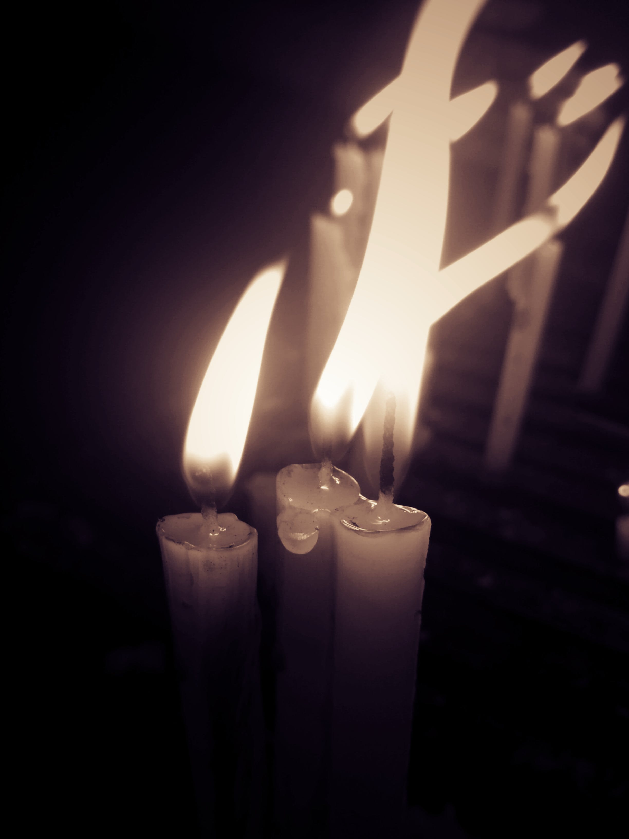 Free stock photo of candle, Candlelights, fire, light