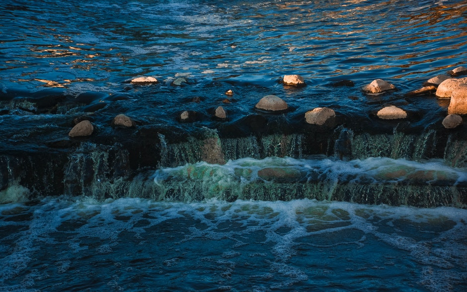 Body of Water and Stones