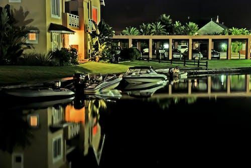 คลังภาพถ่ายฟรี ของ กลางคืน, การสะท้อน, การออกแบบสถาปัตยกรรม, ตอนเย็น