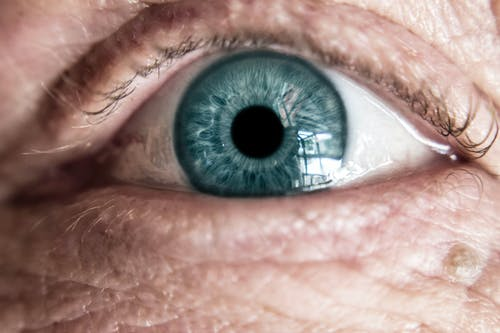 Human Eye Closeup Photography