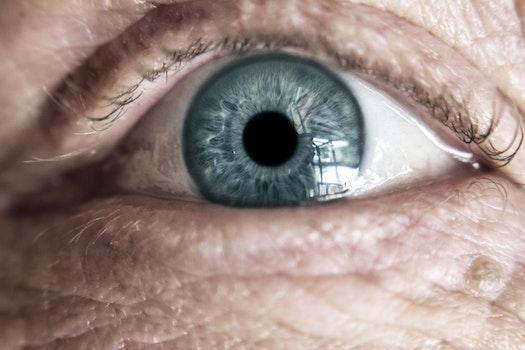 Human Eye Closeup Photography