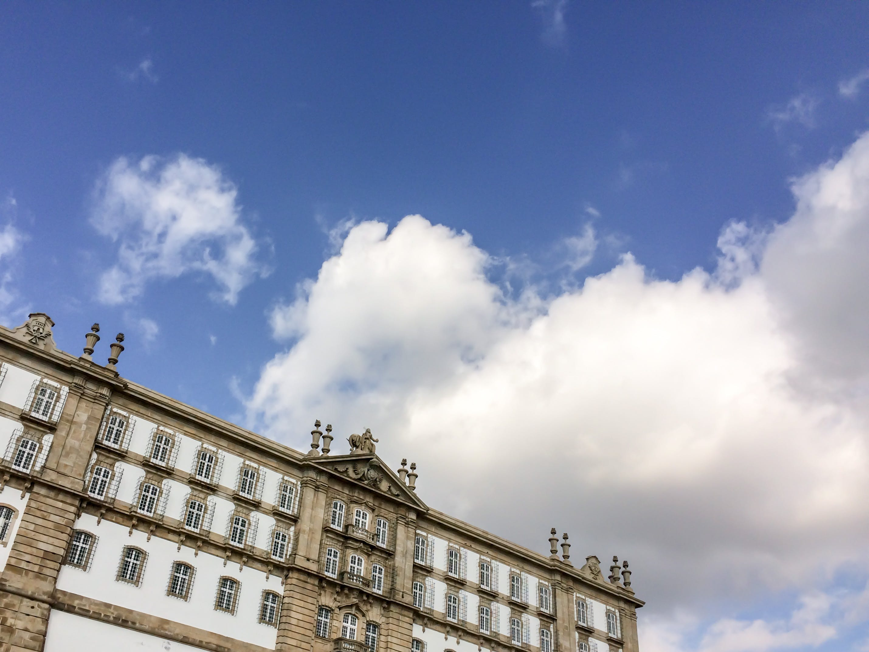 Free stock photo of architecture, blue sky, building, city