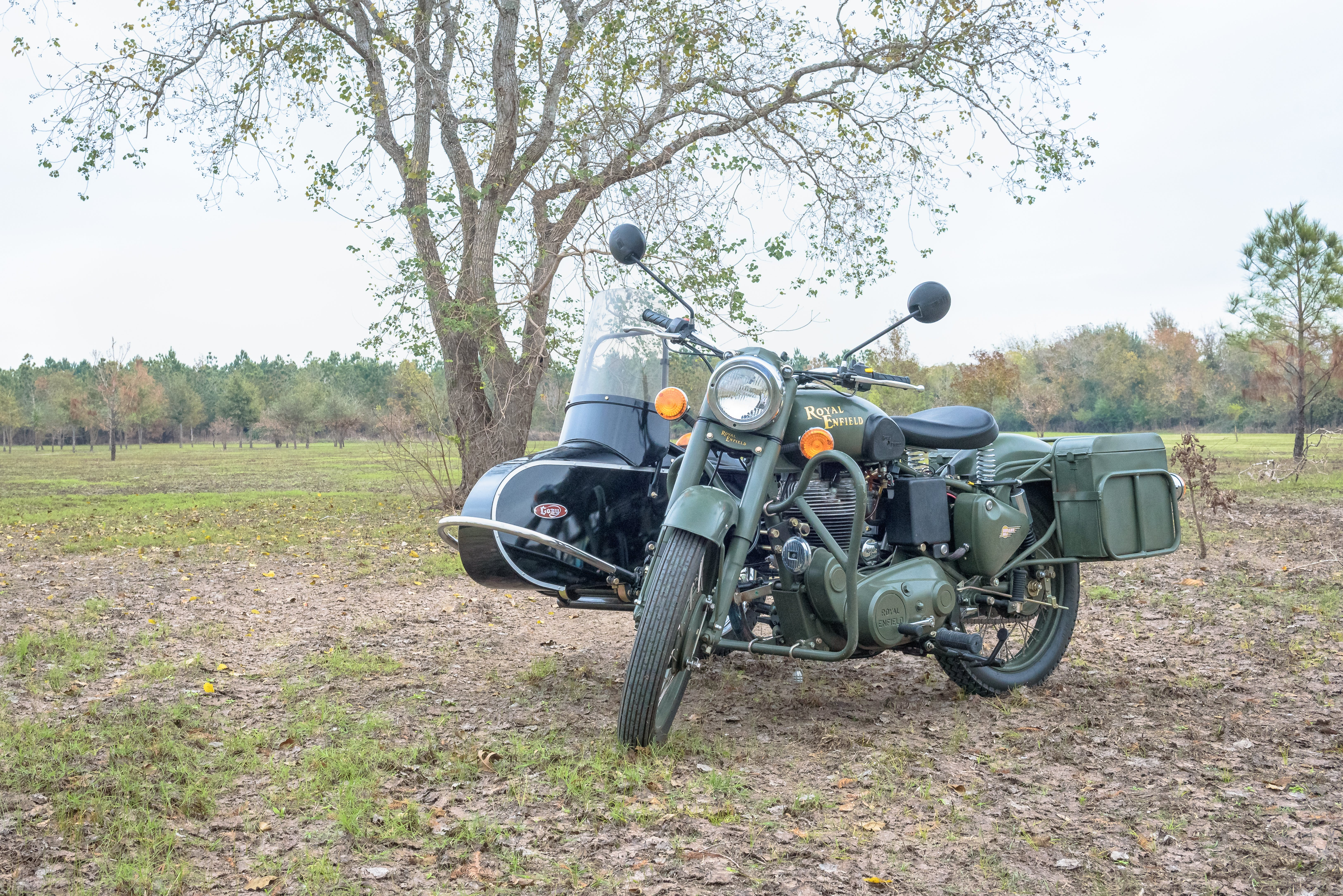 Free stock photo of army, motorcycle, sidecar