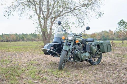 Ilmainen kuvapankkikuva tunnisteilla armeija, moottoripyörä, sivuvaunu