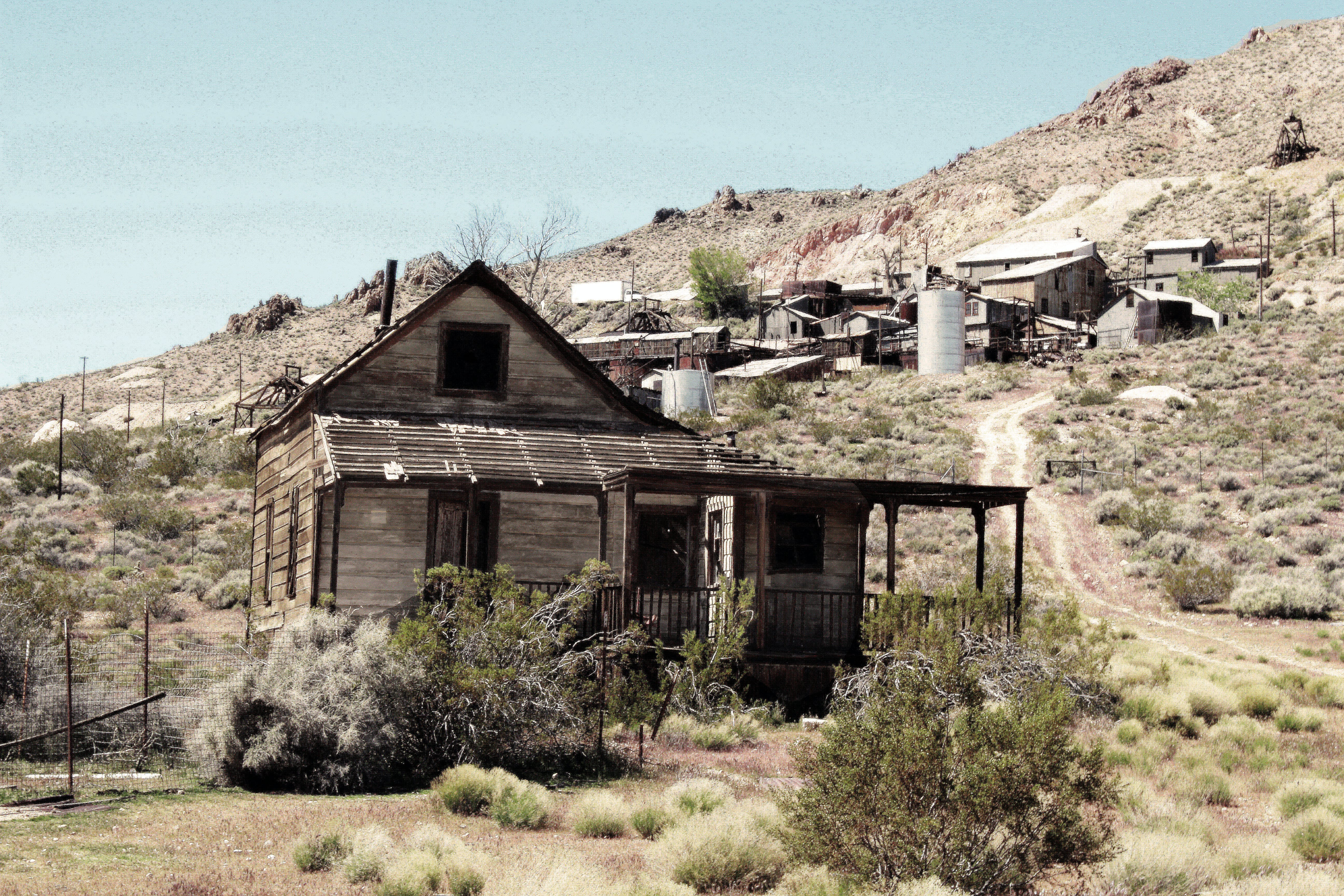 Free stock photo of old, ghost town