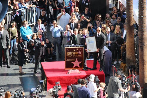 Free stock photo of Dwayne Johnson, hollywood, the rock, walk of fame