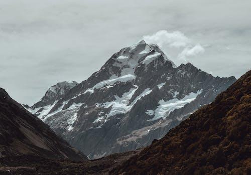 Imagine de stoc gratuită din ceață, cu vârfuri înzăpezite, fotografie cu natură, frig