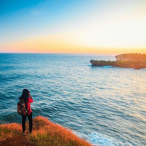 Ảnh lưu trữ miễn phí về ánh sáng ban ngày, bầu trời quang đãng, biển, bình minh