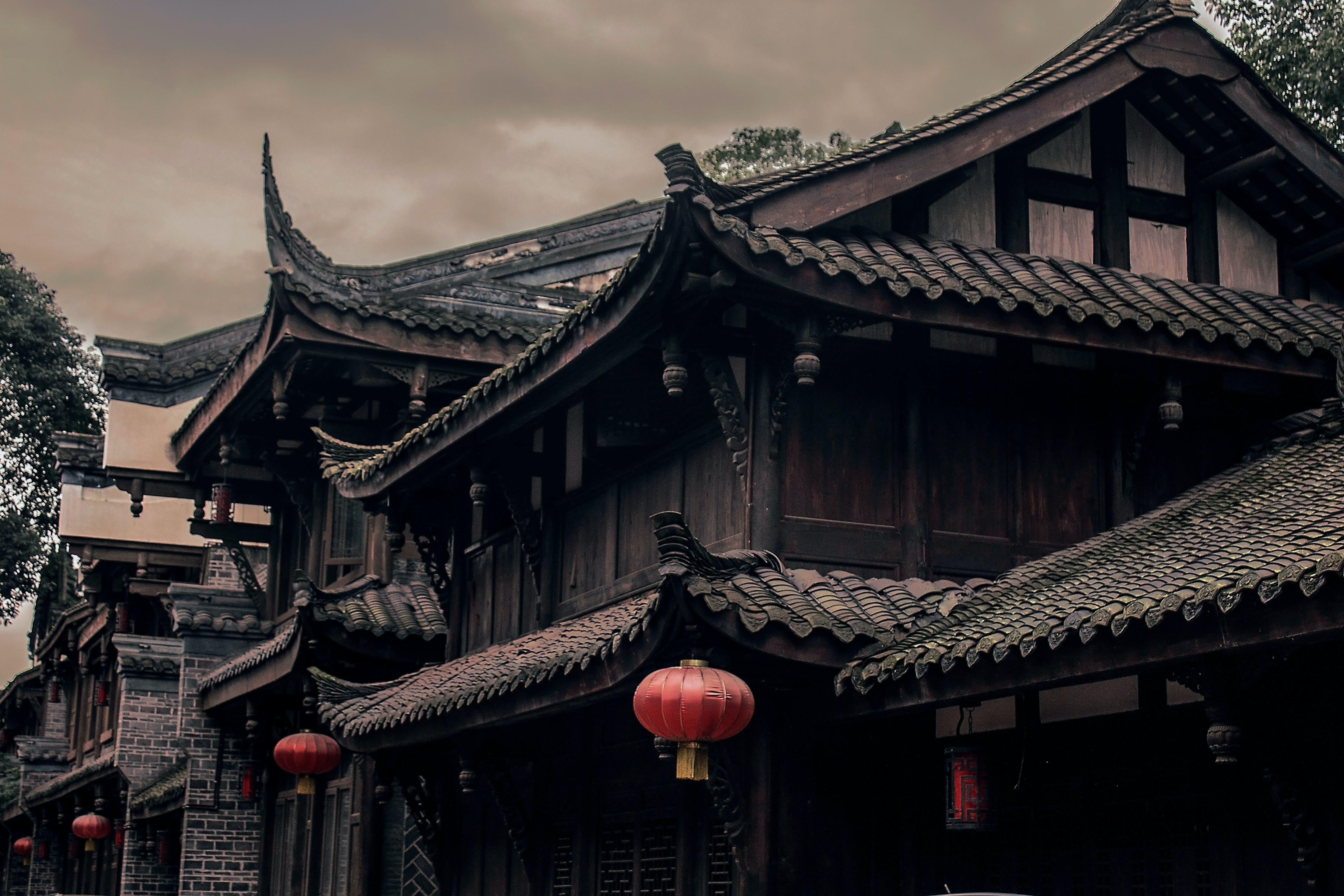 Gratis stockfoto met architectuur, Azië, buitenkant, chinese architectuur