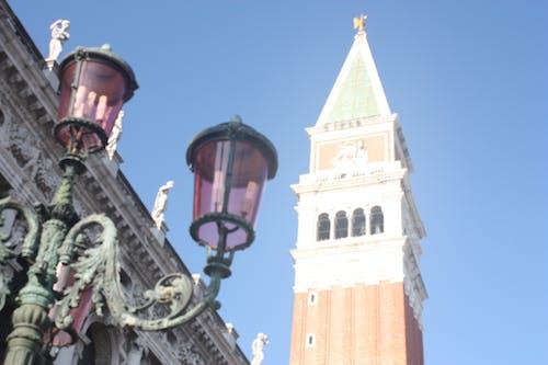 イタリア, カルチャー, クロックタワー, シティの無料の写真素材