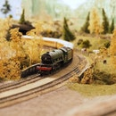 rails, train, vintage
