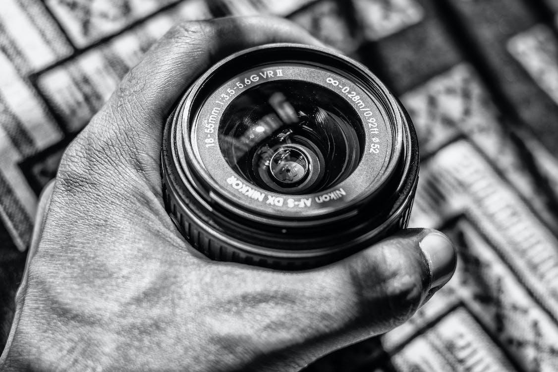 Nikon, аналоговий, великий план