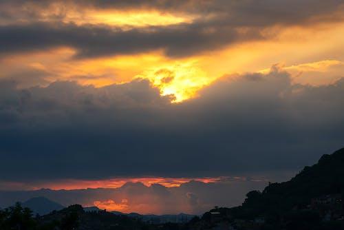 午後, 夕日, 天国の無料の写真素材