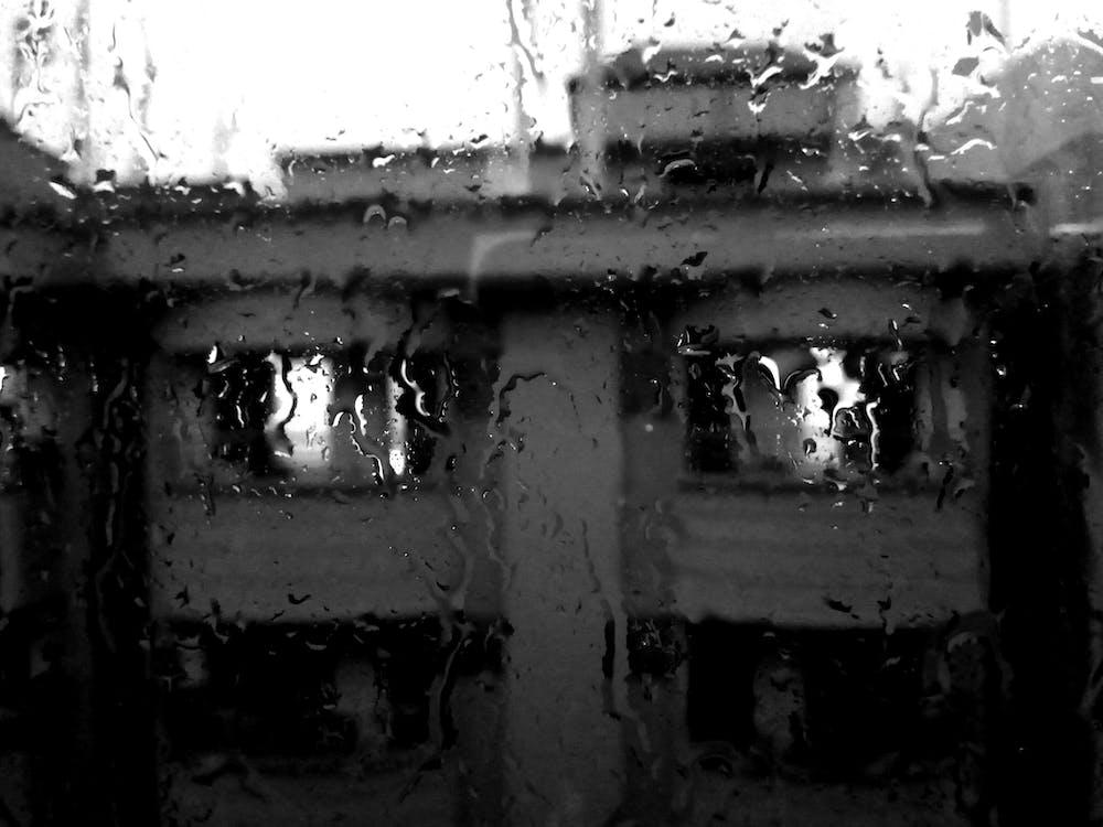 aigua, concentrar-se, desenfocament