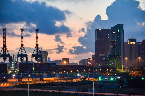 Free stock photo of city center, cityscrapers, coastal city