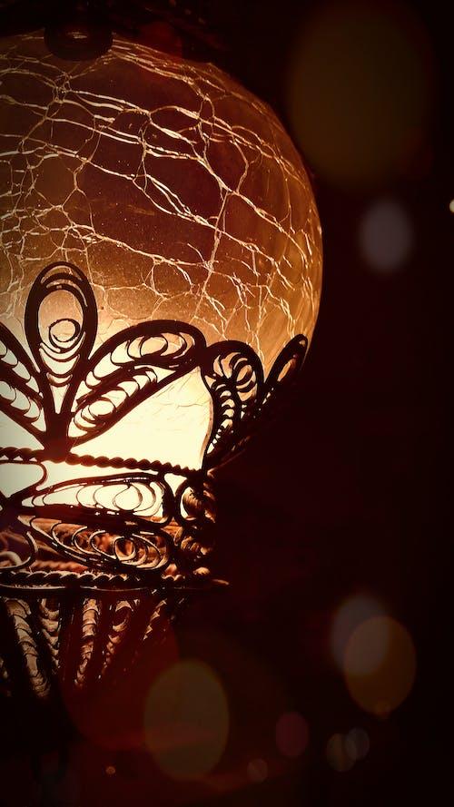 光, 吊燈, 地球, 天花板燈 的 免费素材照片