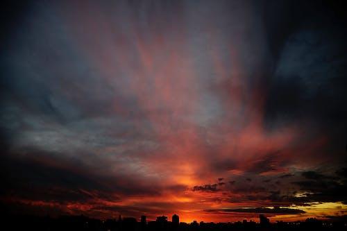 Foto d'estoc gratuïta de capvespre, paisatge, urbà