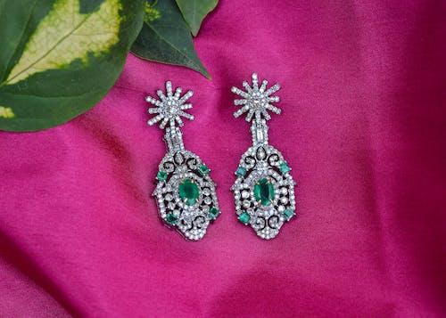 Free stock photo of color, diamond, green