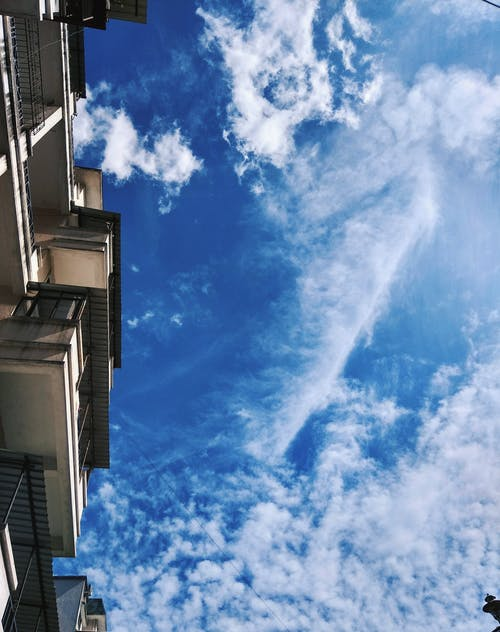 Free stock photo of architecture, blue, blue sky, building
