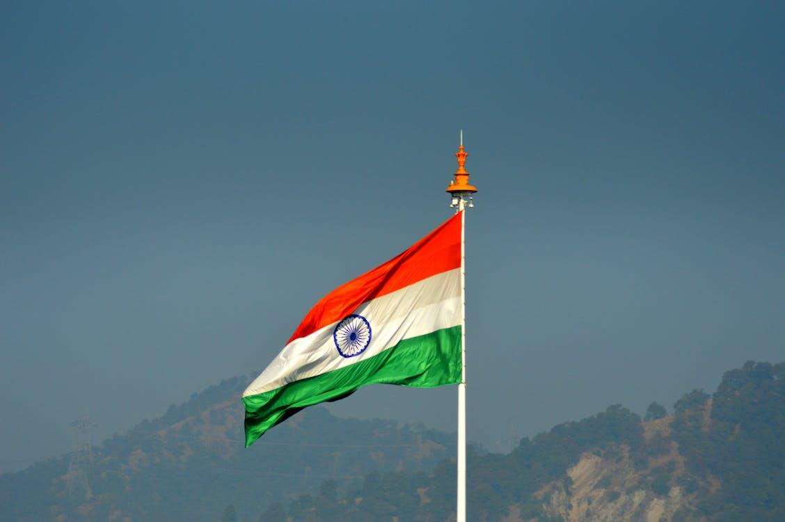 Free stock photo of india flag, indian