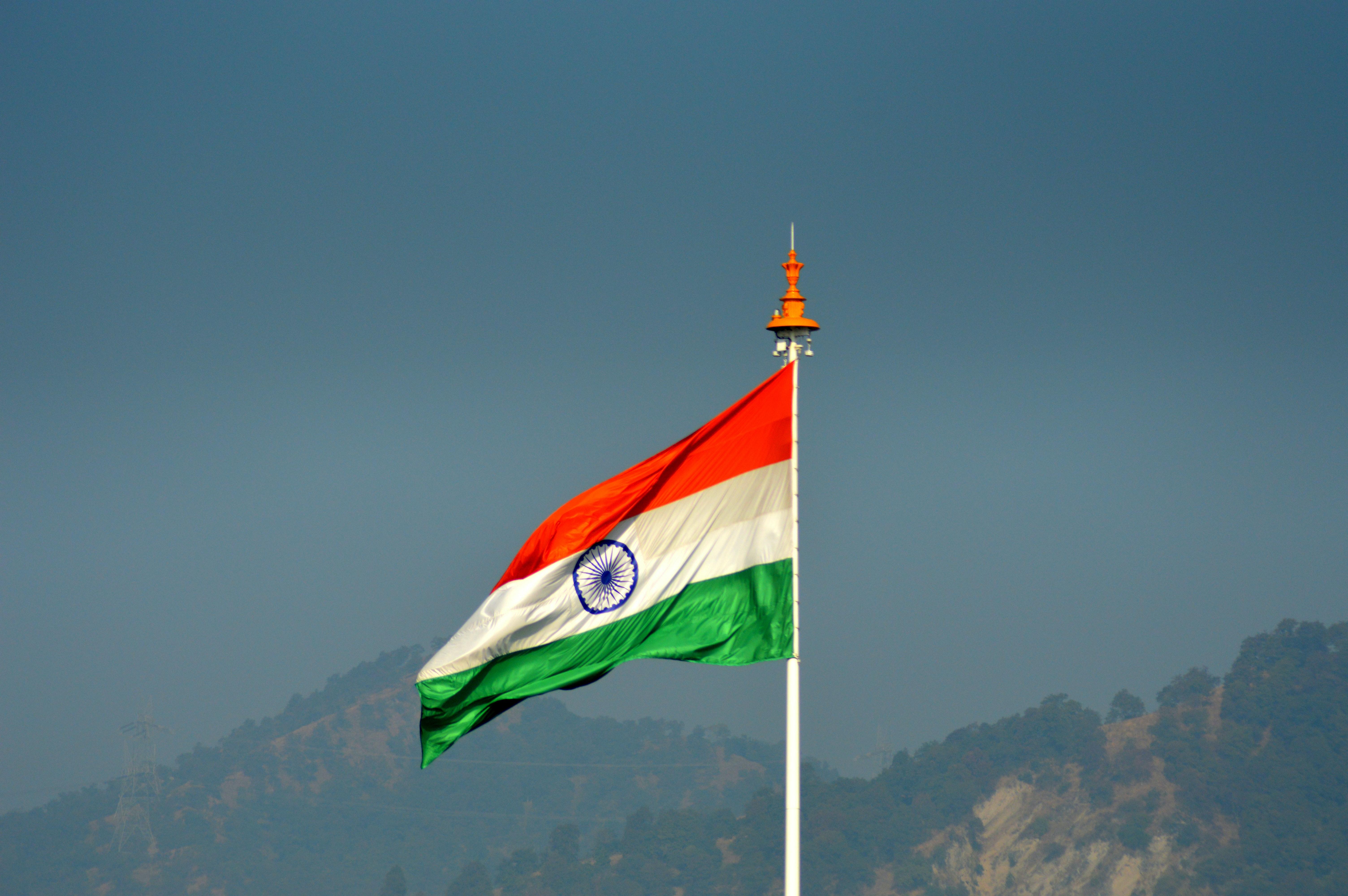 free stock photo of flag india flag indian