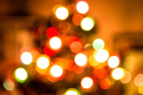 圓形, 明亮, 模糊的, 燈光 的 免费素材照片