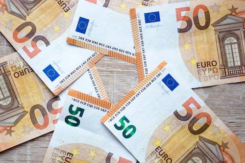 Free stock photo of banknotes, euro, money