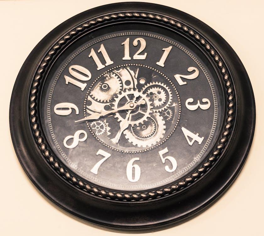Free stock photo of alarm clock, analog watch, break time