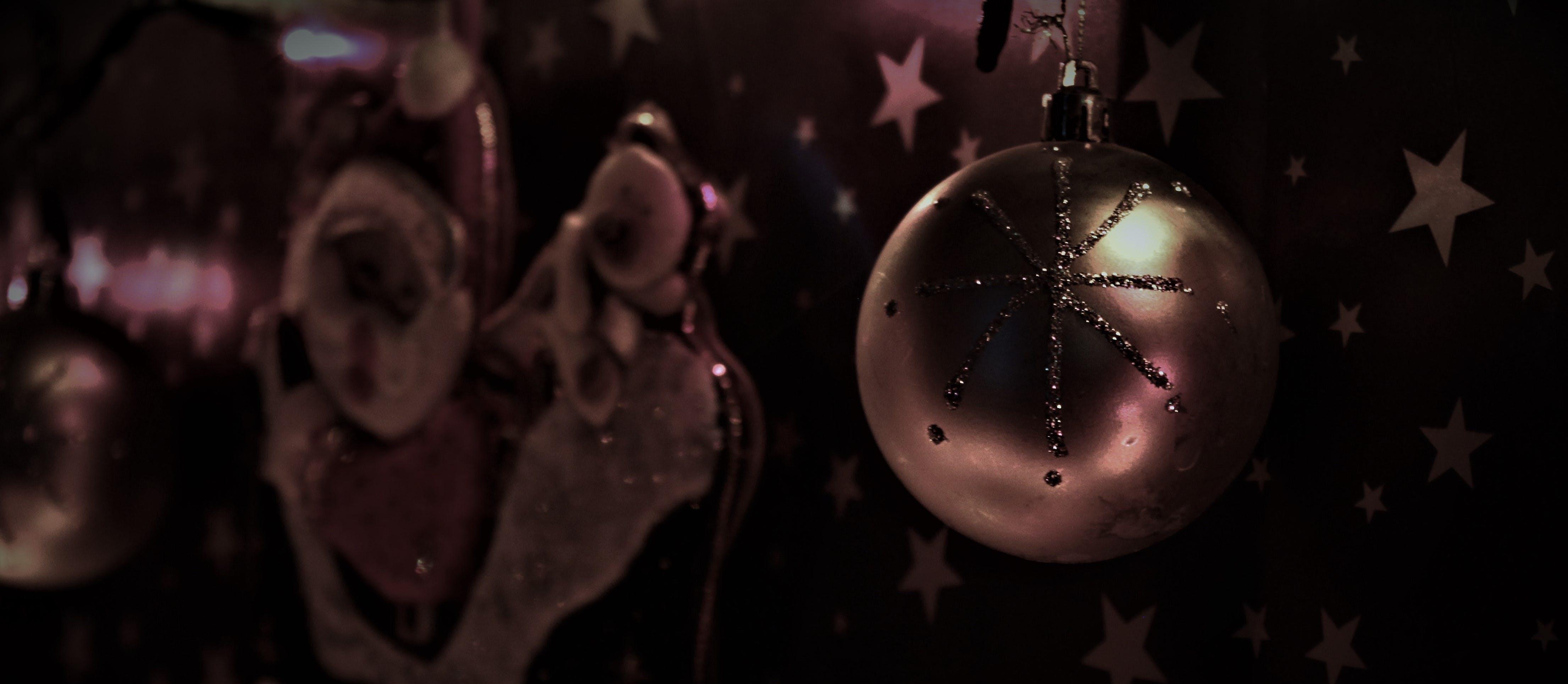 คลังภาพถ่ายฟรี ของ คริสต์มาส, งานเฉลิมฉลอง, ตกแต่ง, พร่ามัว