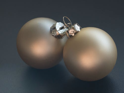 Close-up Photography of Christmas Balls