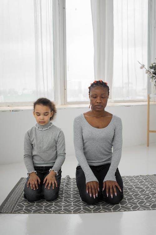Ingyenes stockfotó afro-amerikai gyermek, afro-amerikai nő, anya témában