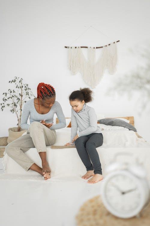 アクティビティ, アパート, アフリカ系アメリカ人女性の無料の写真素材