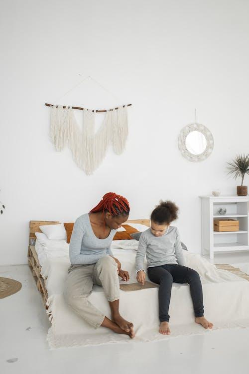 アパート, アフリカ系アメリカ人のウォムナ, アフロの無料の写真素材