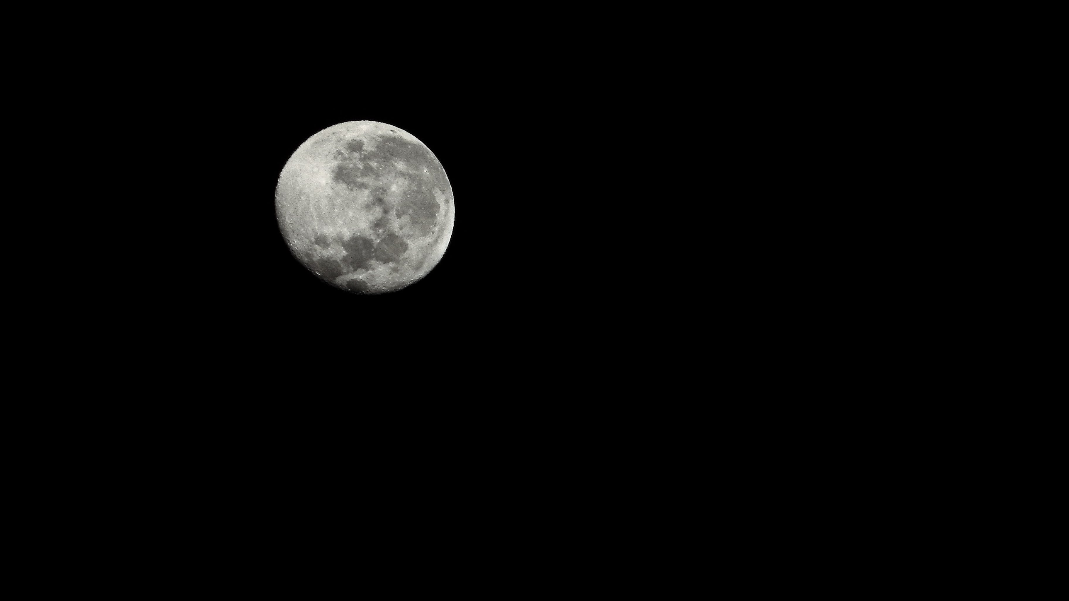 Free stock photo of moon, tripod