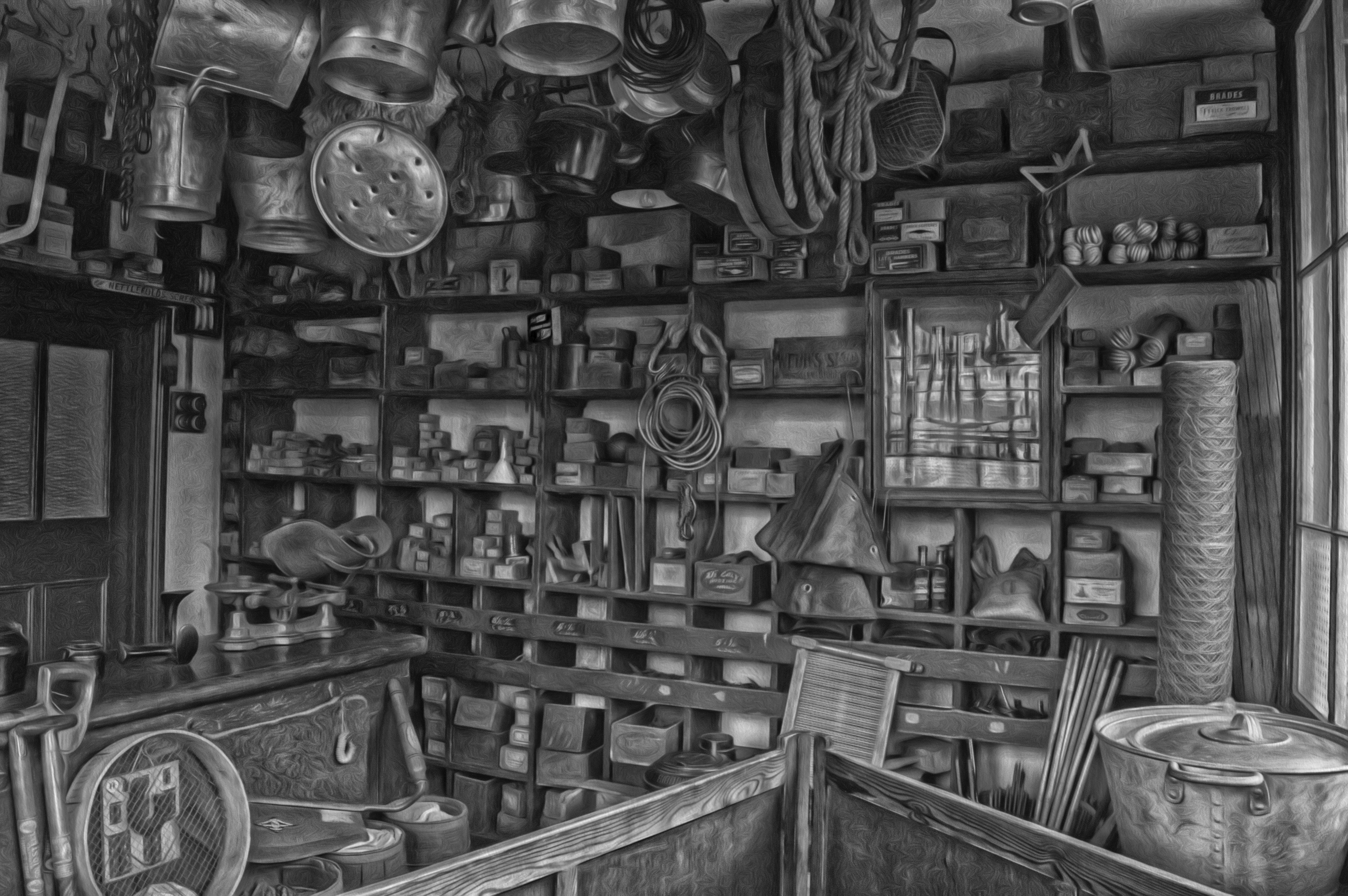 商店, 單色, 室內, 容器 的 免费素材照片