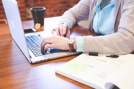 Free stock photo of person, woman, macbook pro, working