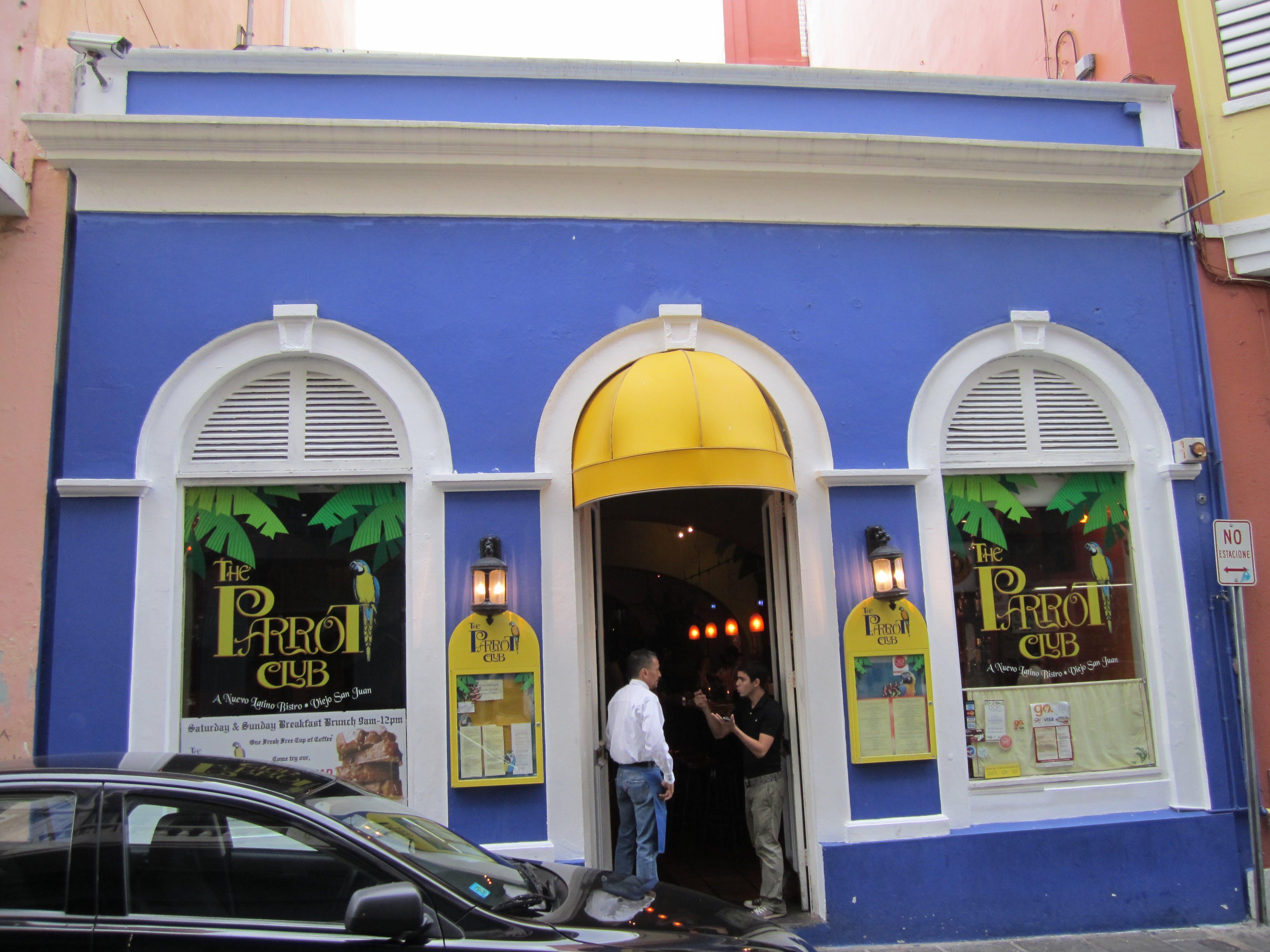 Free stock photo of Parrot club, Puerto Rico, restaurant, san juan