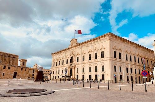 Free stock photo of building architecture, castile valletta, classic