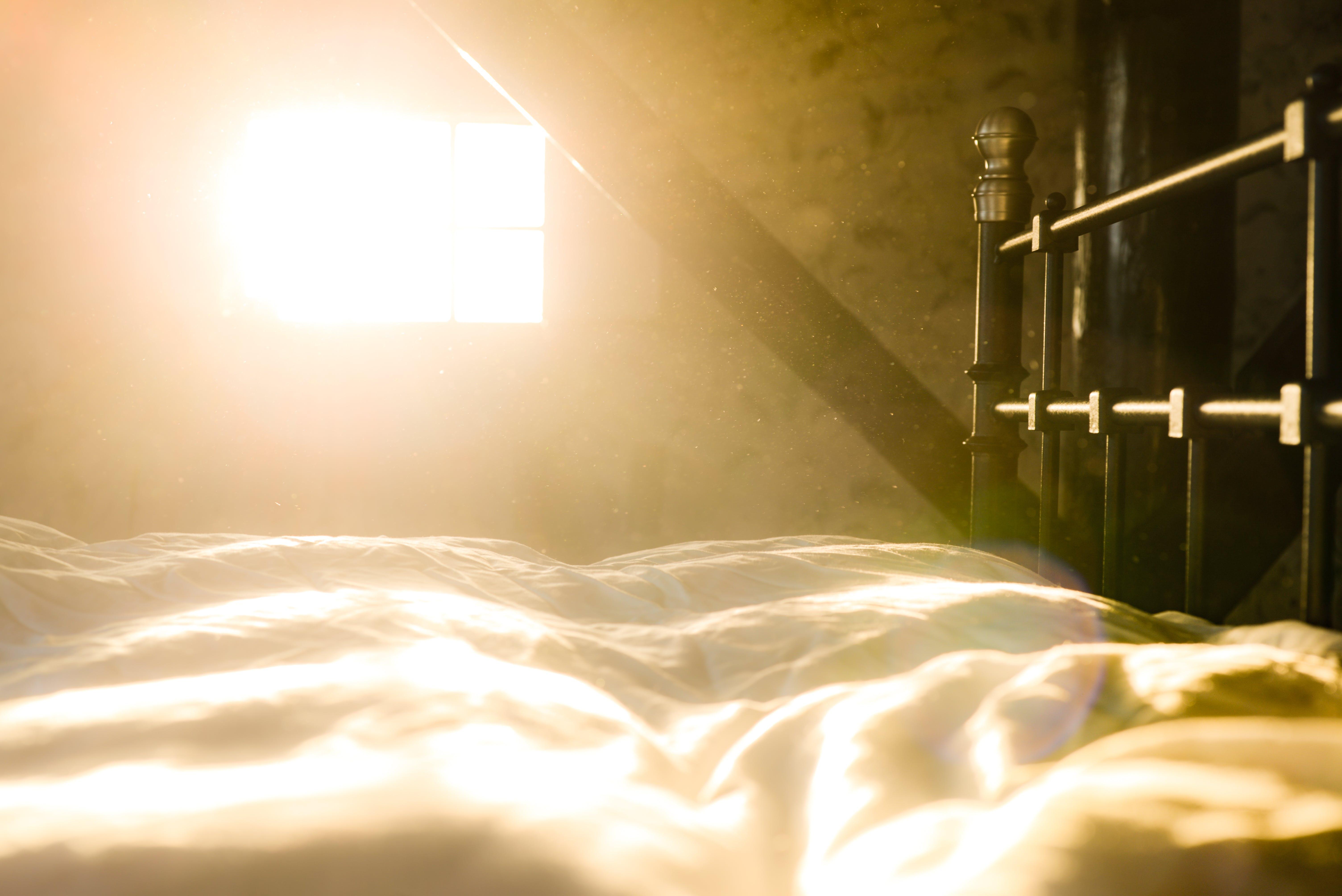 Free stock photo of light, sun, bed, bedroom