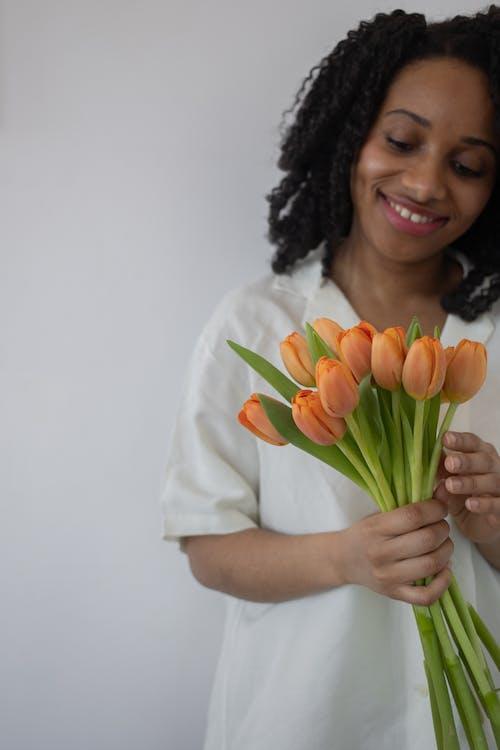 Imagine de stoc gratuită din buchet, femeie, fericire