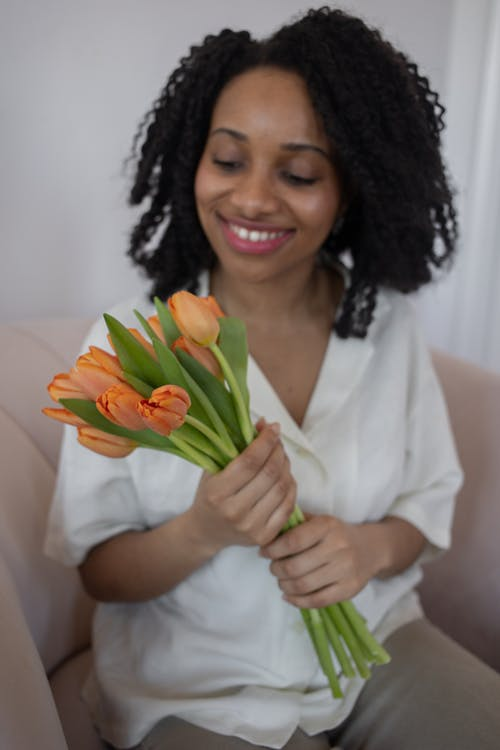 คลังภาพถ่ายฟรี ของ จับ, ดอกทิวลิป, ดอกไม้