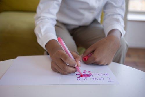Fotobanka sbezplatnými fotkami na tému hracia karta, kancelársky papier, kreslenie