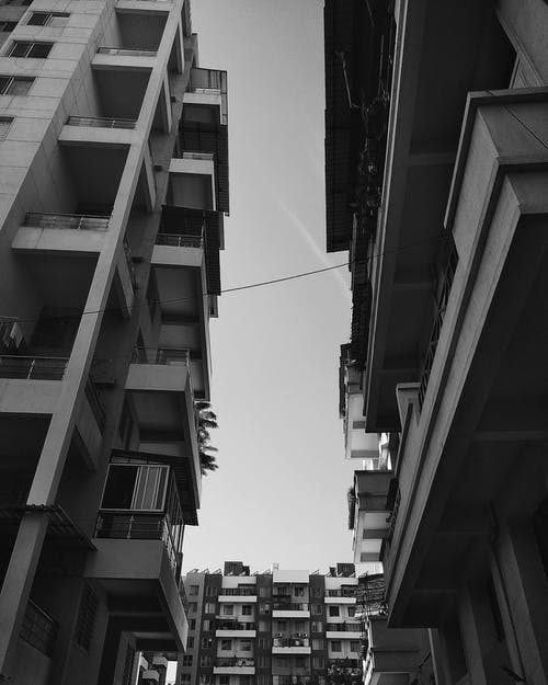 Free stock photo of architecture, black and white, building, india