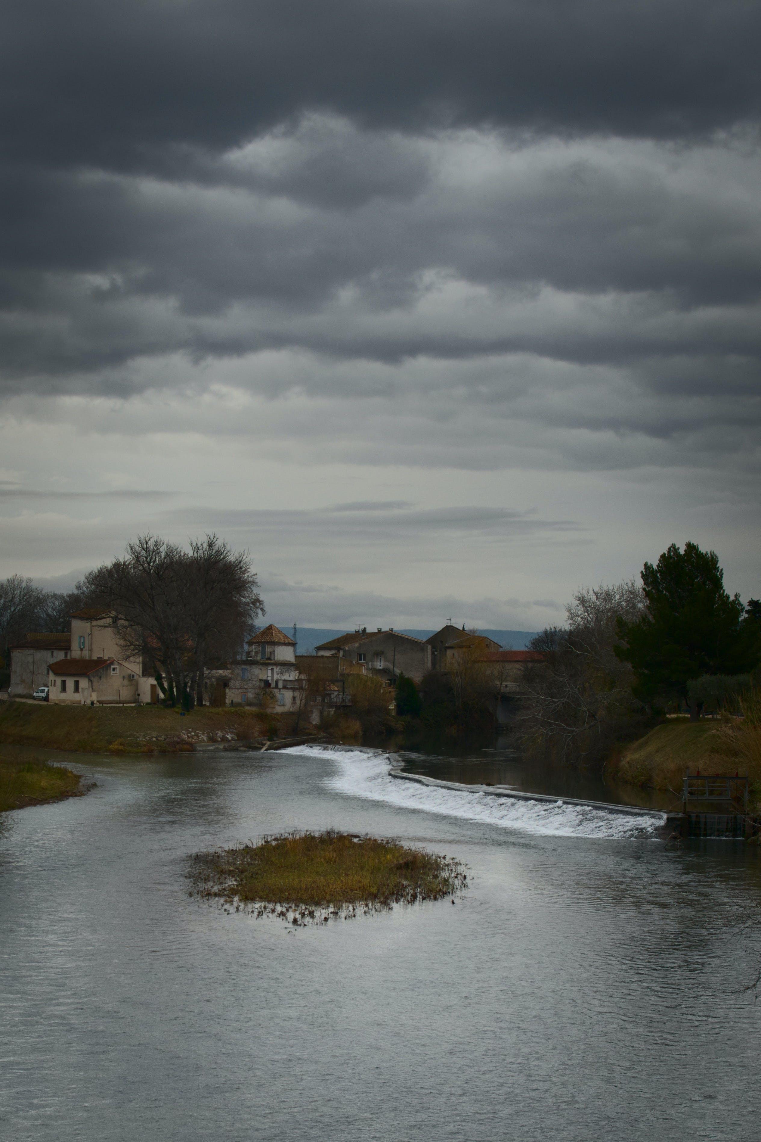 Free stock photo of cloudy sky, Confluent, Dark Sky, landscape