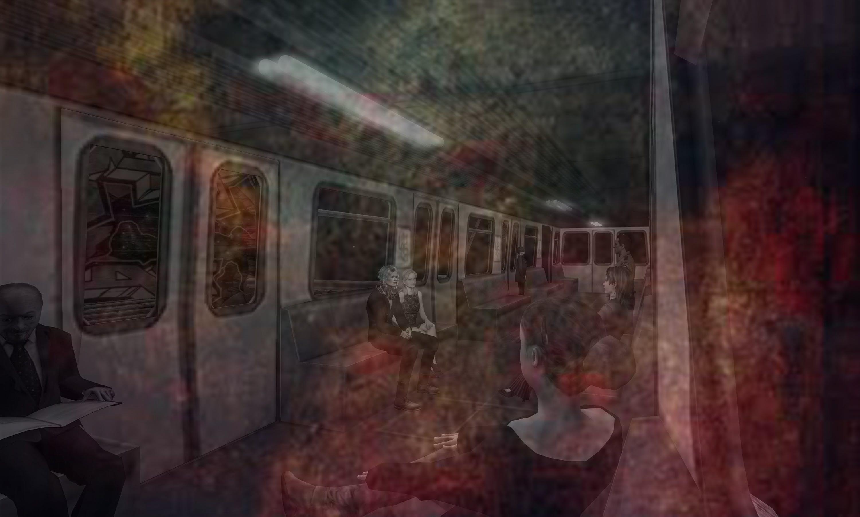 Free stock photo of subway