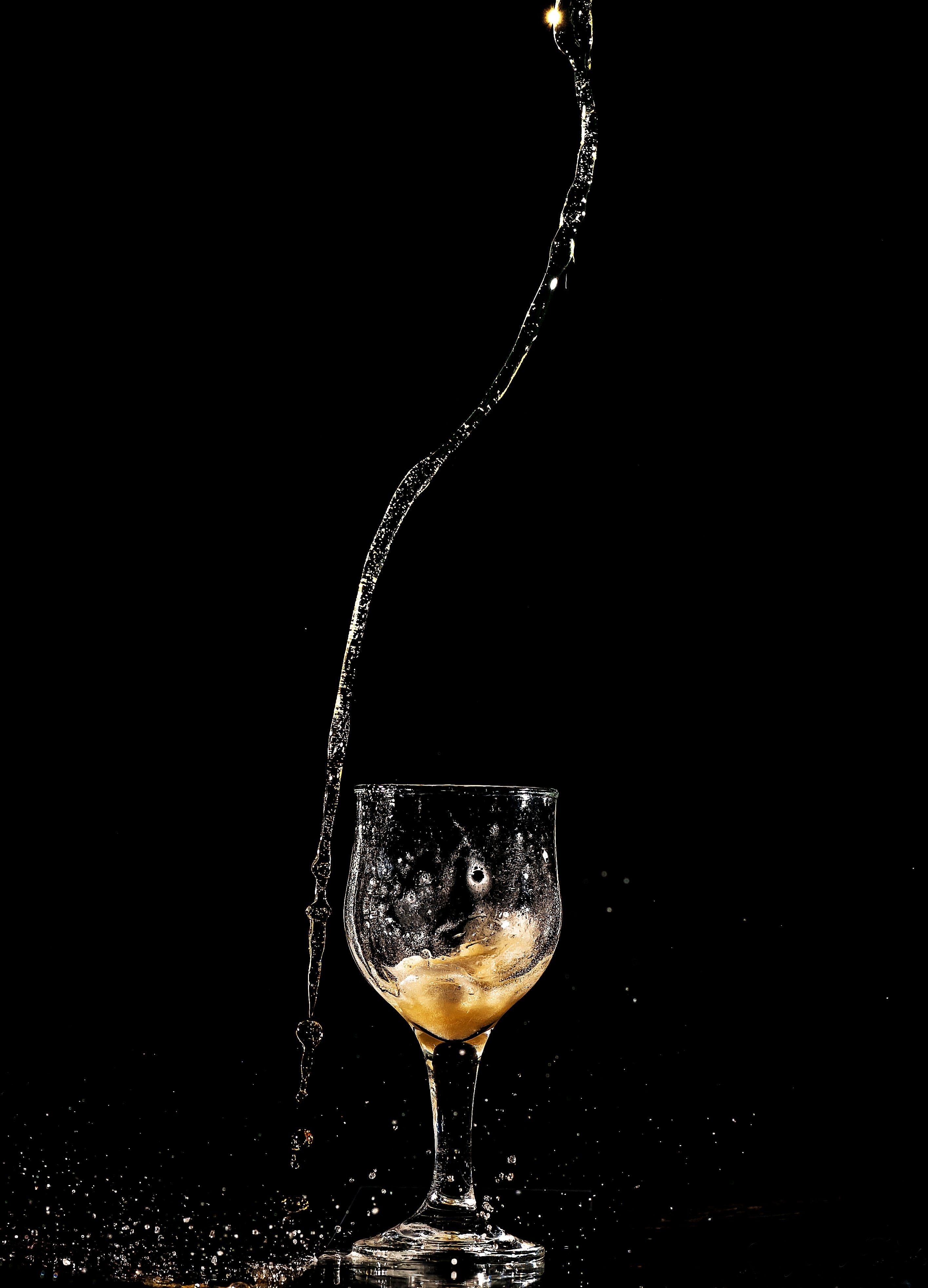 Photo of Liquid Pouring