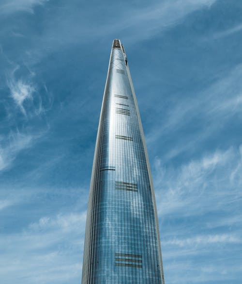 Photo of Lotte World Tower in Seoul Korea