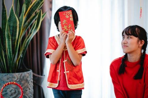 Бесплатное стоковое фото с азиатский подросток, Анонимный, бодрый