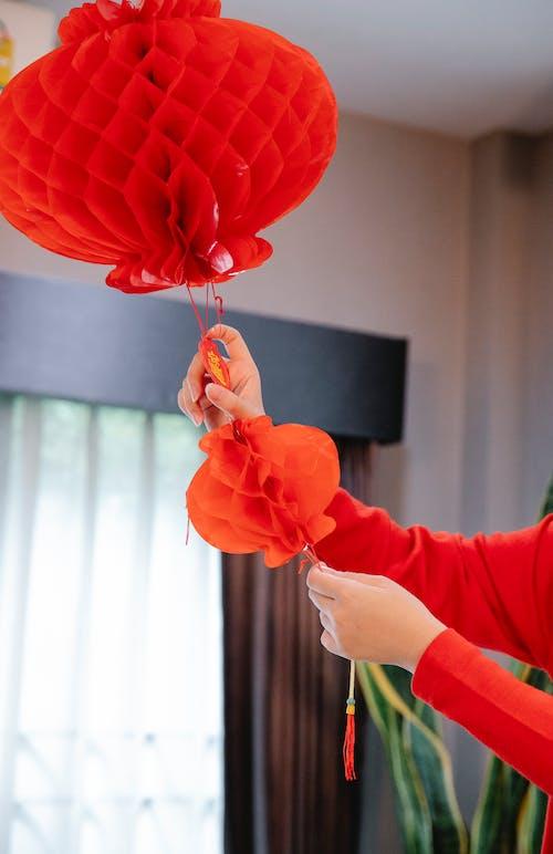 Foto stok gratis adat istiadat, baju merah, budaya